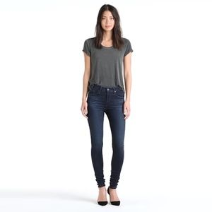 AG The High Rise Farrah Skinny Jeans in Brooks